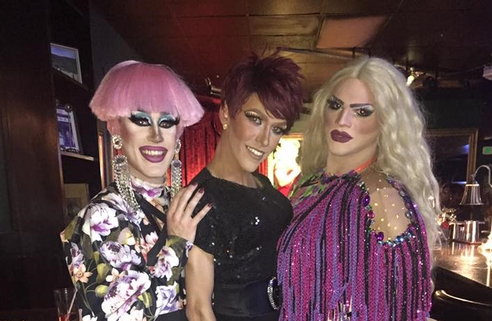 Soy Queen, Jennifer Lynn Ali and Ava Aurora Foxx | Cavan Irish Pub (Columbus, Ohio) | September 2018 CROPPED