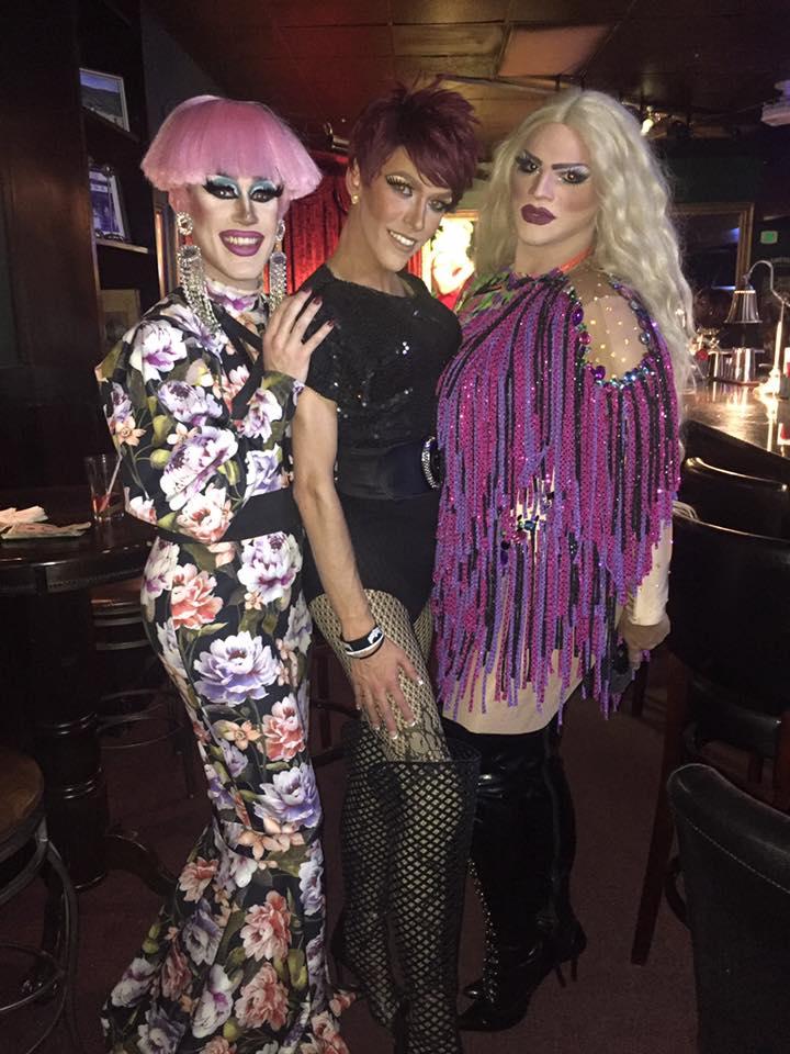 Soy Queen, Jennifer Lynn Ali and Ava Aurora Foxx | Cavan Irish Pub (Columbus, Ohio) | September 2018