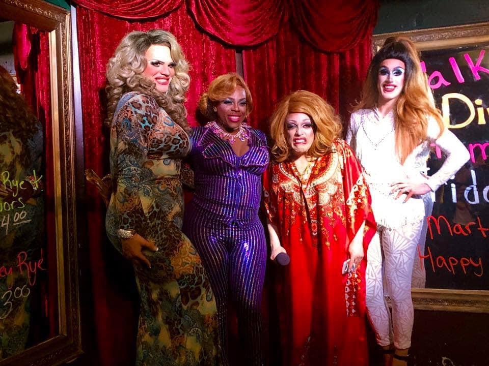 Ava Aurora Foxx, Mikayla Denise, Mary Nolan and Soy Queen | Cavan Irish Pub (Columbus, Ohio) | March 2019