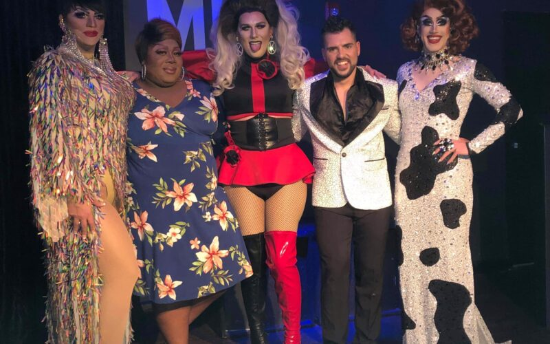 Ava Aurora Foxx, Pat Yo Weave, Kourtney West, Vincent Debeauté and Soy Queen | MJ's on Jefferson (Dayton, Ohio) | April 2019