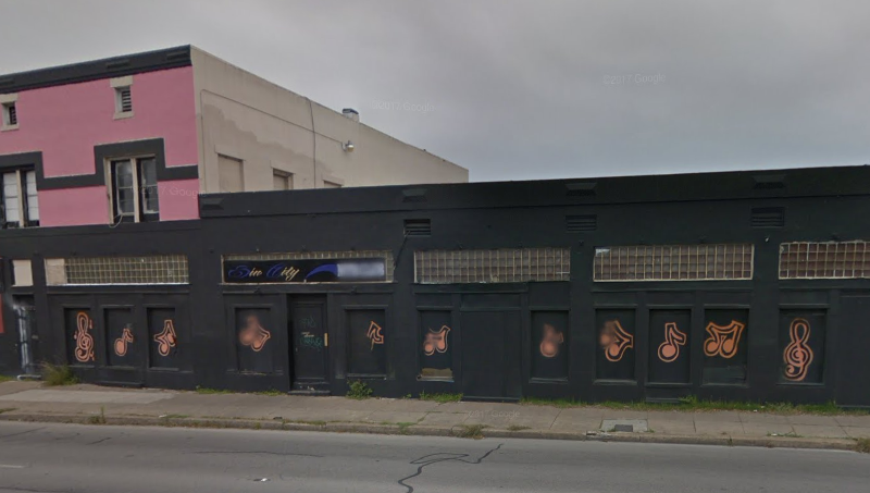 This building here at 820 San Pedro Avenue in San Antonio, Texas was once the home to The Wild Club. This is as it appeared in a March 2016 Google Street View capture.