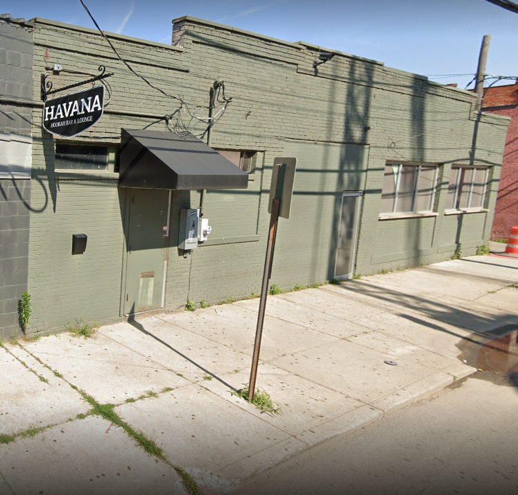 This building here at 145 N. 5th Street in Columbus, Ohio was once the home to Score Bar. This is as it appeared in a July 2019 Google Street View capture.