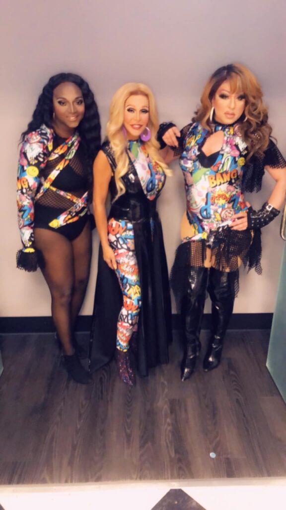 Dominique Sanchez, Danielle Hunter and Nina DiAngelo | Hamburger Mary's (St. Louis, Missouri) | July 2020
