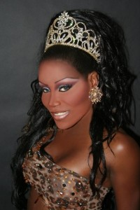 Champagne Bordeaux - Miss Gay Ohio America 1994