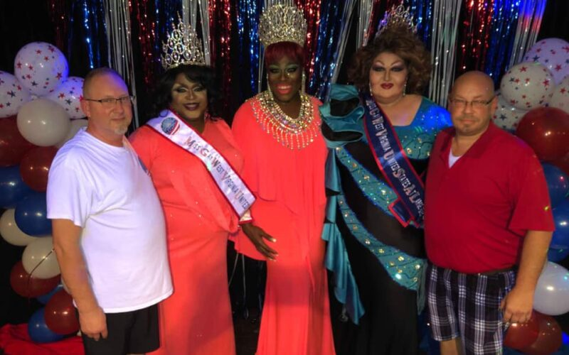 Het Vinson, Daray Lorez, Moltyn Decadence, Trista Storm and Ernest Morrison   Miss Gay West Virginia United States at Large and Icon   Broadway (Charleston, West Virginia)   7/19/2019