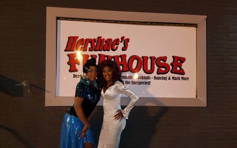 Hershae Chocolate and Misty Knight | Hershae's Funhouse (Toledo, Ohio) | September 2016