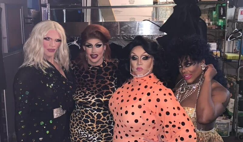 Ava Aurora Foxx, Courtney Kelly, Reianna Ali and Mikayla Denise   Union Cafe (Columbus, Ohio)   2/10/2021