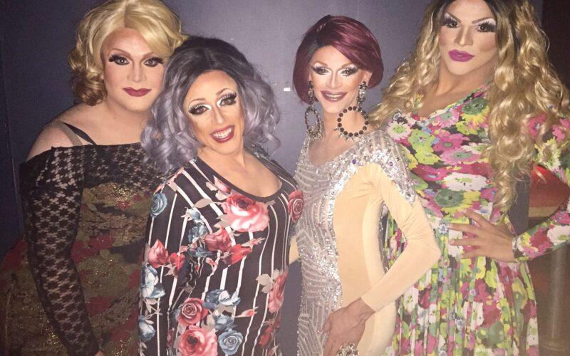 Misty Phoenix St. James, Mary Nolan, Jaymee Sexton and Ava Aurora Foxx   A.W.O.L. (Columbus, Ohio)   March 2017