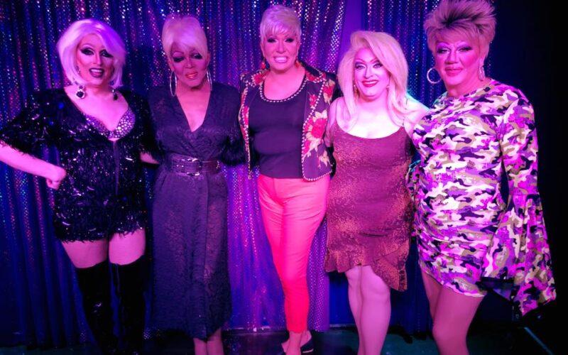 Samantha Rollins, Georgia Jackson, Sonya Ross, Vivi Velure and Hellin Bedd   Boscoe's (Columbus, Ohio)   March 2018