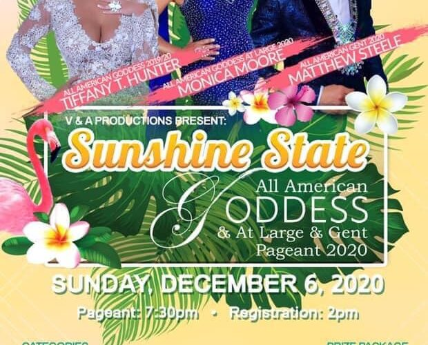 Ad | Sunshine State All American Goddess, at Large and Gent | Hamburger Mary's (Clearwater, Florida) | 12/6/2020